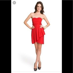 Alice by Temperley Strapless Tiered Tulip Dress